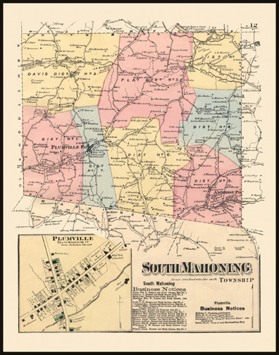 South Mahoning Township,Plumville