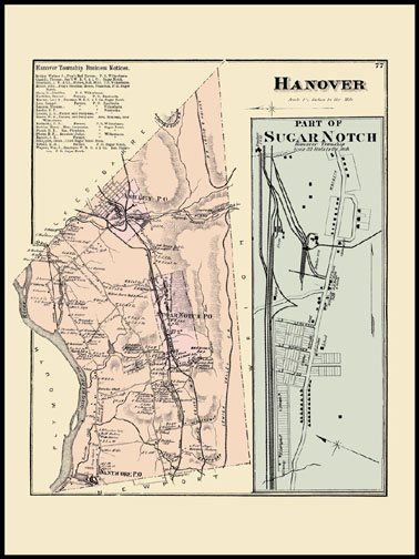 Hanover Township,Part of Sugar Notch
