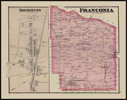Franconia Township,Soudertown