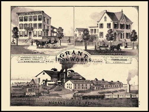 Grant Iron Works - Mahanoy City