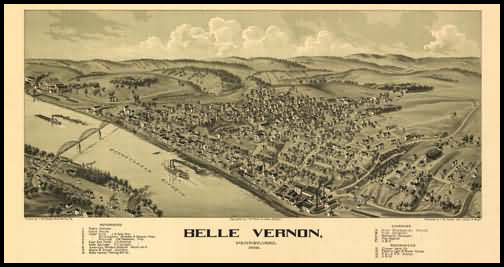 Belle Vernon Panoramic - 1902