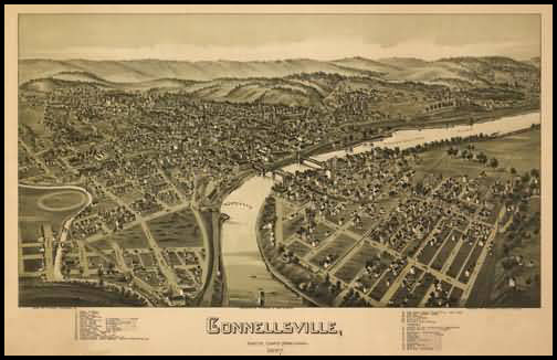 Connellsville Panoramic - 1897