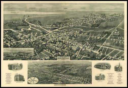 Absecon Gardens Panoramic - 1924