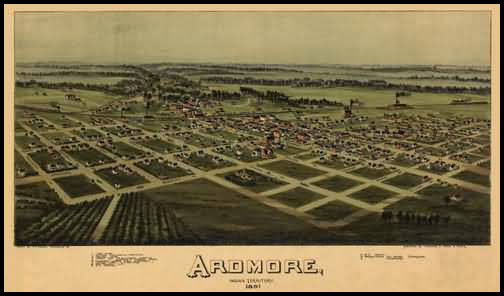 Ardmore Panoramic - 1891