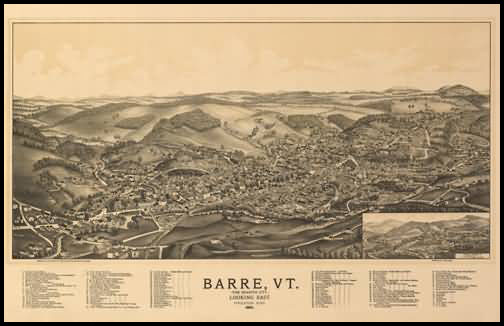 Barre Panoramic - 1891