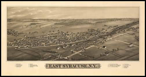East Syracuse Panoramic - 1885