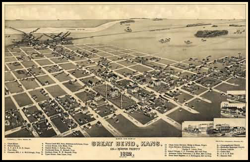 Great Bend Panoramic - 1882
