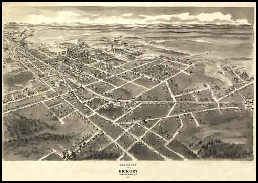 Hickory Panoramic - 1907
