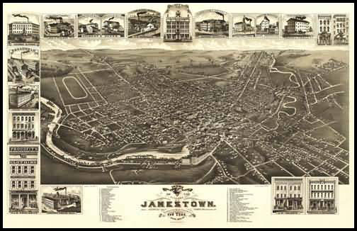 Jamestown Panoramic - 1882