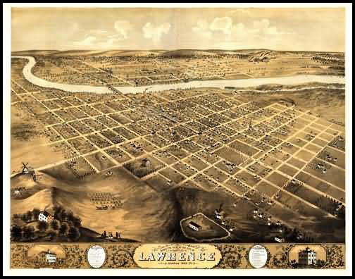 Lawrence Panoramic - 1869