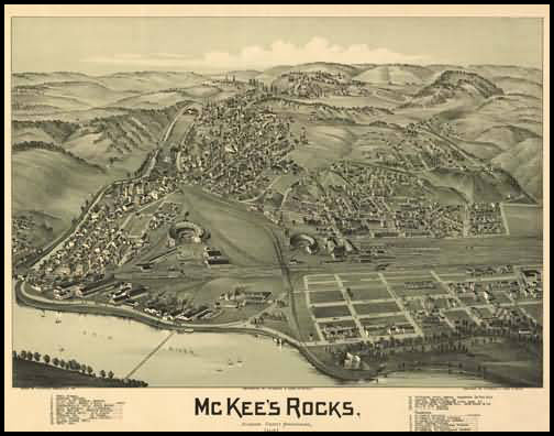 McKee's Rocks Panoramic - 1901