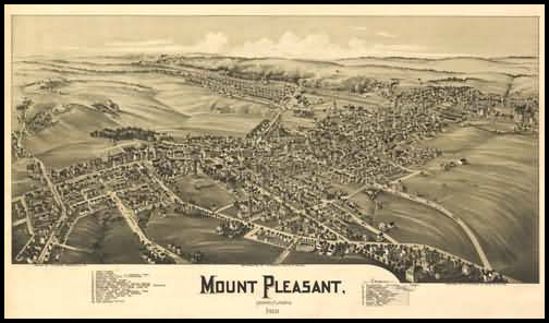 Mount Pleasant Panoramic - 1900