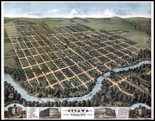 Ottawa Panoramic - 1872