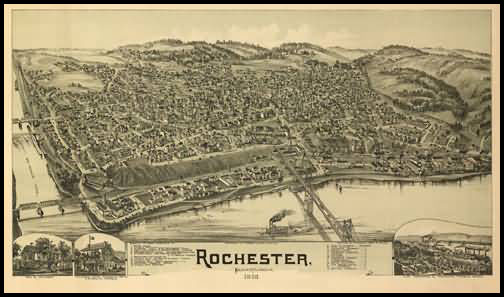 Rochester Panoramic - 1900