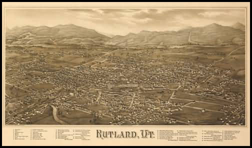Rutland Panoramic - 1885