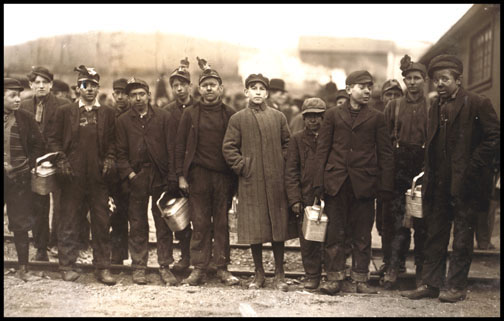 Breaker Boys - Bliss Colliery - Nanticoke - 1911