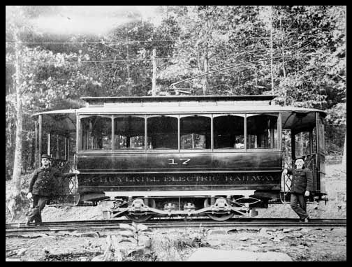 Pennsylvania Electric Railway - Car #17