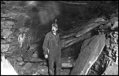 Bank Boss - Turkey Knob Mine - Macdonald - West Virginia - 1908