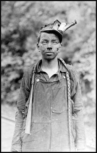 Young Driver in Mine - Brown Mine - West Virginia - 1908