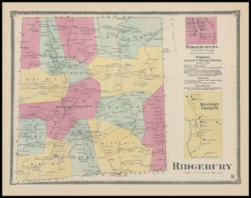 Ridgebury Township,Bentley Creek,Ridgebury