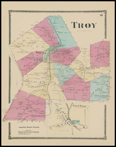Troy Township,East Troy