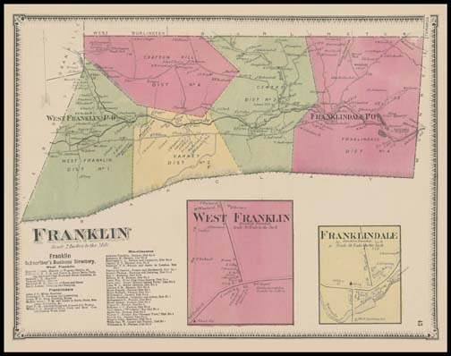 Franklin Township,West Franklin,Franklindale
