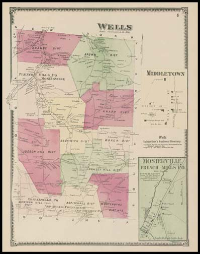 Wells Township,Middletown,Mosierville,French Mills