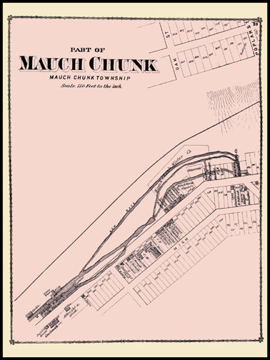 Part of Mauch Chunk