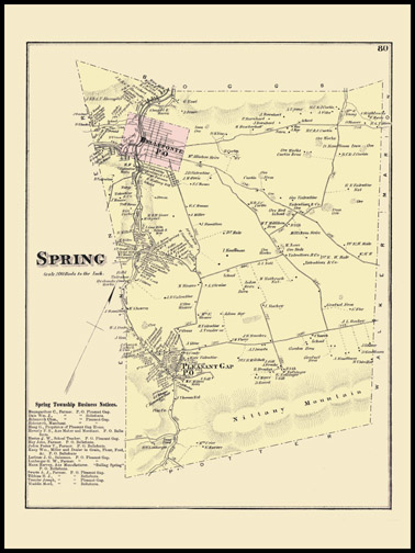 Spring Township,Pleasant Gap,Bellefonte