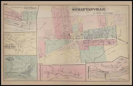 Strattanville,Maysville,Wild Cat Furnace,Red Bank Furnace,Lucind Furnace,East Parker