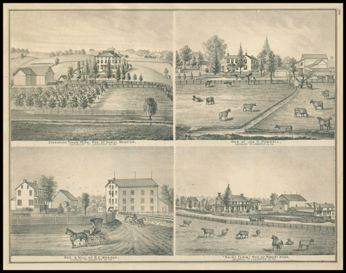 Evergreen Terrace Farm,Res. of Daniel Webster,Res. Jos D. Pownall,Dairy Farm - Robert Hogg