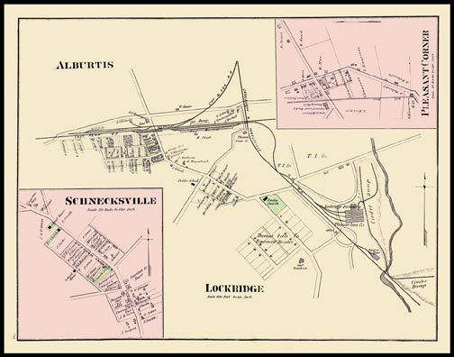 Alburtis,Lockridge,Pleasant Corner,Schnecksville