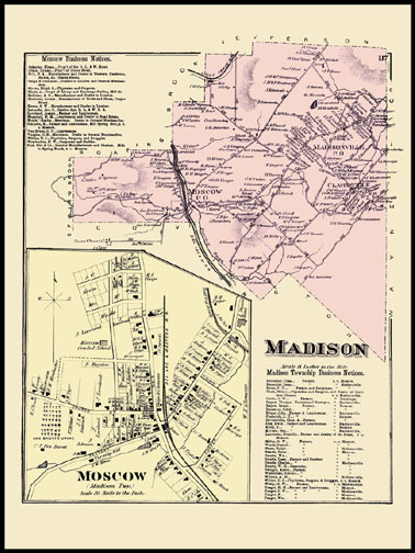 Madison Township,Moscow