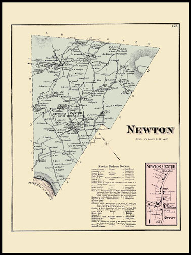 Newton Township,Newton Center
