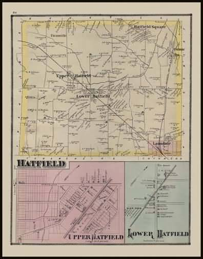Hatfield Township,Upper Hatfield,Lower Hatfield