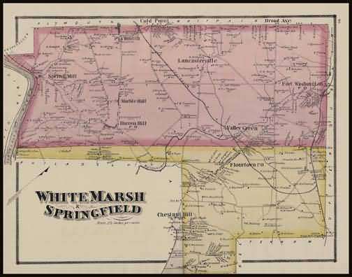 White Marsh Township,Springfield Township
