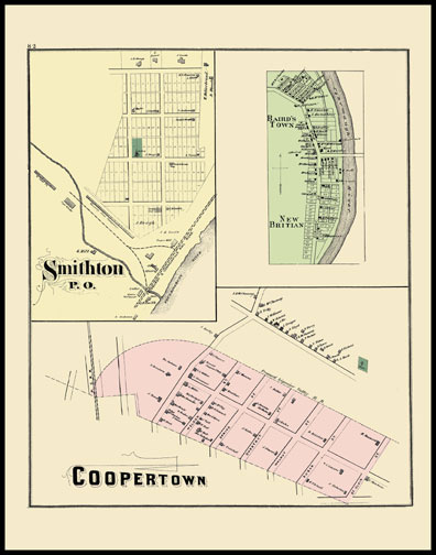 Smithton,New Britiam,Coopertown