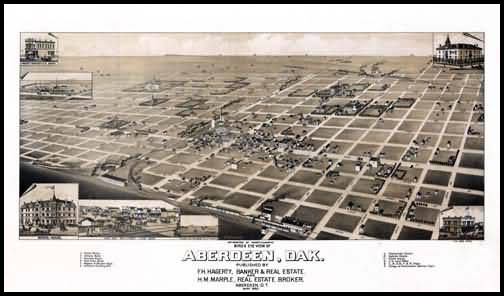Aberdeen Panoramic - 1883