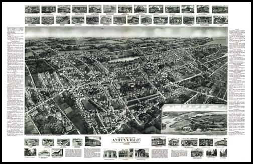 Amityville Panoramic - 1925