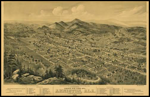 Anniston Panoramic - 1888