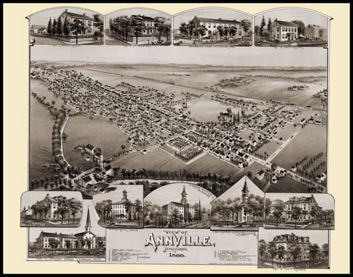 Annville Panoramic - 1888
