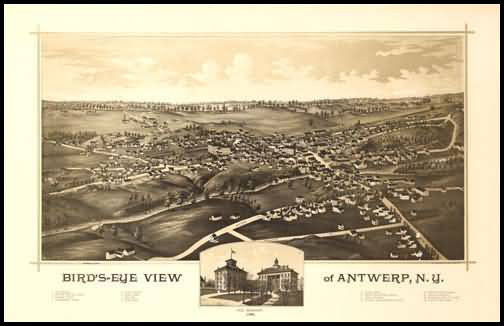 Antwerp Panoramic - 1888