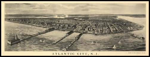 Atlantic City Panoramic - 1905