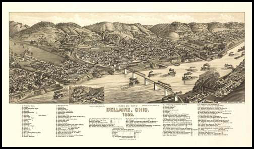 Bellaire Panoramic - 1882