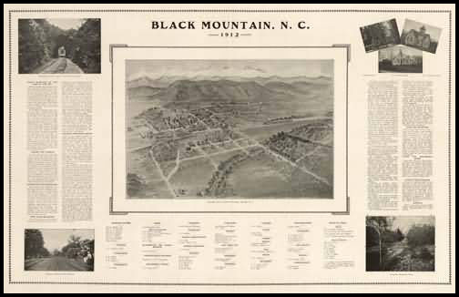 Black Mountain Panoramic - 1912