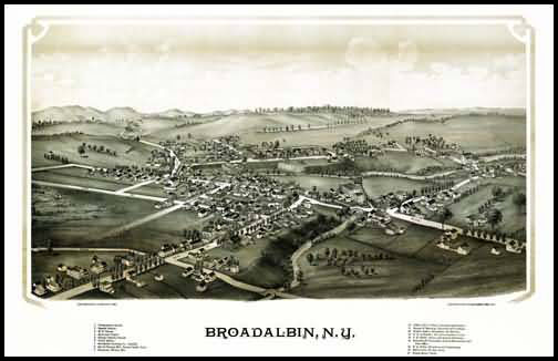 Broadalbin Panoramic - 1888