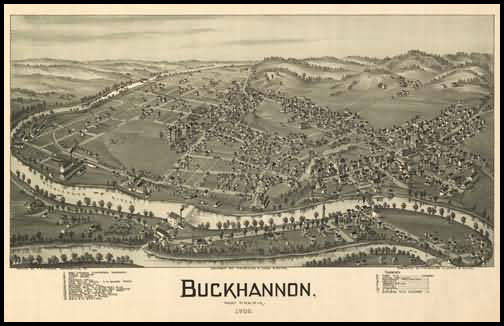 Buckhannon Panoramic - 1900