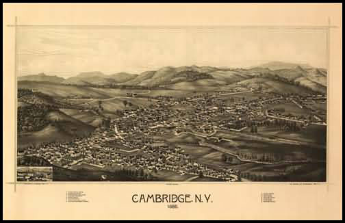 Cambridge Panoramic - 1886