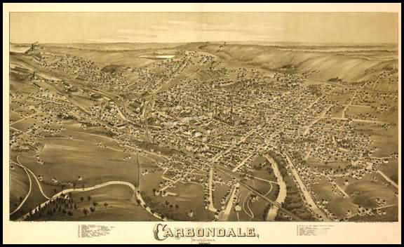 Carbondale Panoramic - 1890