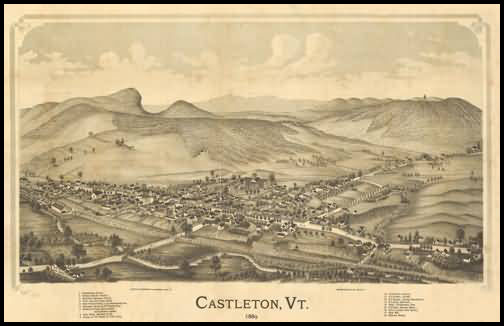 Castleton Panoramic - 1889
